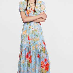 Zara vintage inspired dress brand new with tags